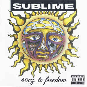 SUBLIME – 40 OZ. OF FREEDOM (CD)
