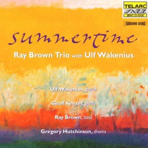 BROWN, RAY -TRIO- SUMMER TIME CD  TELA 83430 –  (CD)
