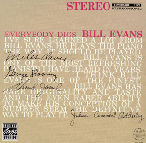 EVANS, BILL -TRIO- – EVERYBODY DIGS BILL EVANS (LP)