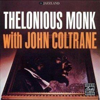 MONK, THELONIOUS – WITH JOHN COLTRANE (LP)