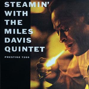 DAVIS, MILES -QUINTET- – STEAMIN' WITH (LP)
