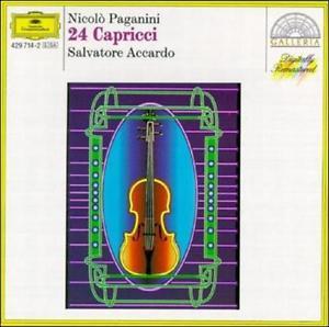 PAGANINI, N. – 24 CAPRICCI (CD)