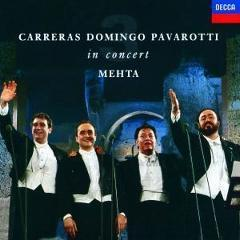CARRERAS/DOMINGO/PAVAROTT – IN CONCERT-REMASTERED- (CD)