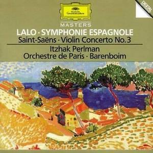 LALO/SAINT SAENS – SYMPHONY ESPAGNOL/VIOLINC (CD)