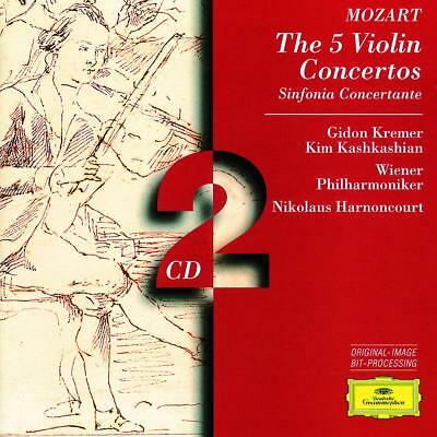 MOZART, W.A. – 5 VIOLIN CONCERTOS KV207, (2xCD)