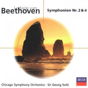 BEETHOVEN, L.V. SYMPHONIES 2 & 4 CD –  (CD)
