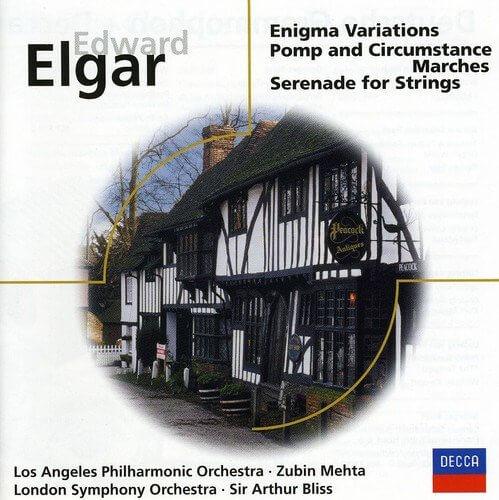 ELGAR ENIGMA VARIATIONS SERENADE FOR STRINGS ASMF MARRINER CD –  (CD)
