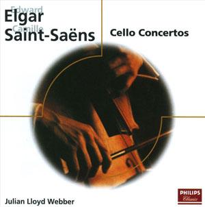 ELGAR/SAINT-SAENS/FAURE CELLO CONCERTOS/ELEGIE –  (CD)