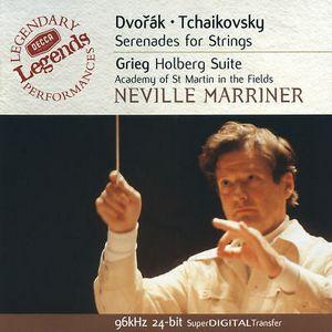 ACADEMY OF ST. MARTIN IN THE FIELDS, SIR NEVILLE MARRINER – DVORÁK / GRIEG / TCHAIKOVSKY: STRING SERENADES (CD)