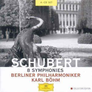 SCHUBERT, F. – 8 SYMPHONIES BOX (4xCD)