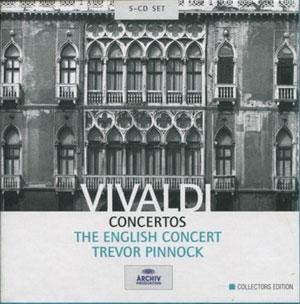 THE ENGLISH CONCERT, TREVOR PINNOCK – VIVALDI: CONCERTOS (5xCD)