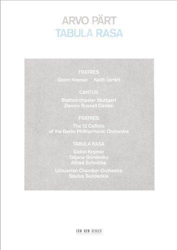 PART, A. – TABULA RASA / FRATRES (CD)