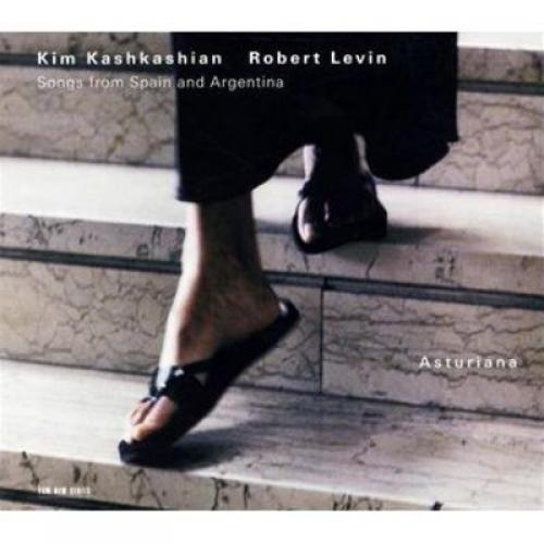 KIM KASHKASHIAN/ROBERT LEVIN: ASTURIANA –  (CD)
