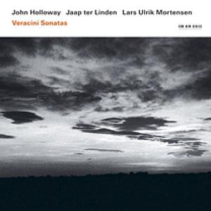 JOHN HOLLOWAY / VERACINI: SONATAS –  (CD)