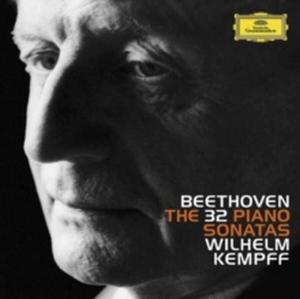 WILHELM KEMPFF – BEETHOVEN: THE 32 PIANO SONATAS (8xCD Box)