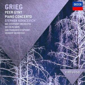 GRIEG, E. – PEER GYNT/PIANO CONCERTO (CD)
