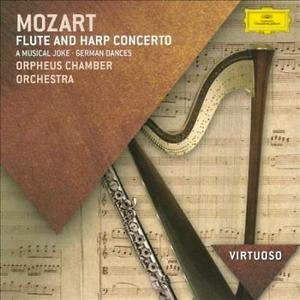 MOZART, W.A. – FLUTE & HARP CONCERTO (CD)
