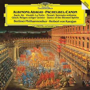 BERLINER PHILHARMONIKER, HERBERT VON KARAJAN – ALBINONI / VIVALDI / J.S. BACH / MOZART (LP)