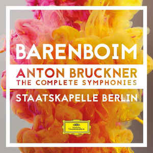STAATSKAPELLE BERLIN, DANIEL BARENBOIM – BRUCKNER: THE COMPLETE SYMPHONIES (9xCD)