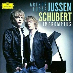 JUSSEN, LUCAS & ARTHUR – SCHUBERT IMPROMPTUS & FANTASIE (2xCD)