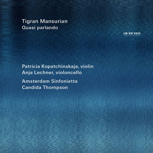 MANSURIAN, T. – QUASI PARLANDO (CD)
