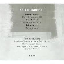 JARRETT, KEITH – SAMUEL BARBER/BELA BARTOK (CD)