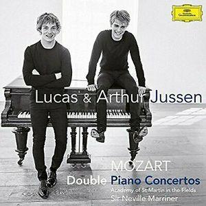 JUSSEN, LUCAS & ARTHUR – MOZART DOUBLE CONCERTOS (CD)