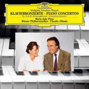MARIA JOÃO PIRES, WIENER PHILHARMONIKER, CLAUDIO ABBADO – MOZART: PIANO CONCERTOS NOS. 14 & 26 (LP)