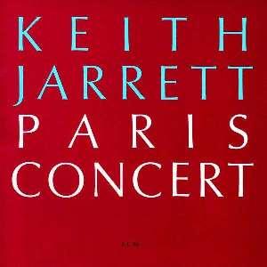 KEITH JARRETT –  PARIS CONCERT (CD)