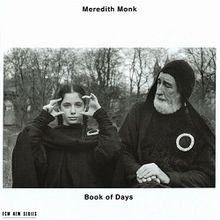 MONK, MEREDITH – BOOK OF DAYS (CD)