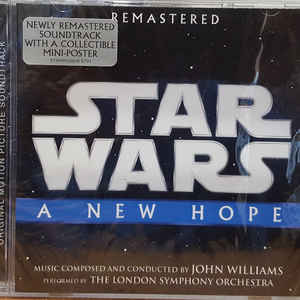 JOHN WILLIAMS – STAR WARS: A NEW HOPE (CD)