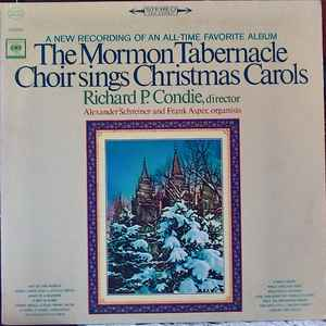 MORMON TABERNACLE CHOIR – SINGS CHRISTMAS CAROLS (LP)