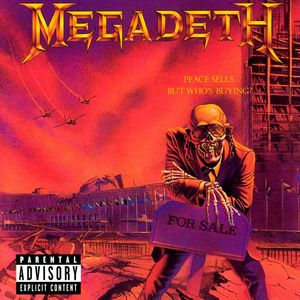 MEGADETH – PEACE SELLS…BUT WHO'S BUYING? (LP)