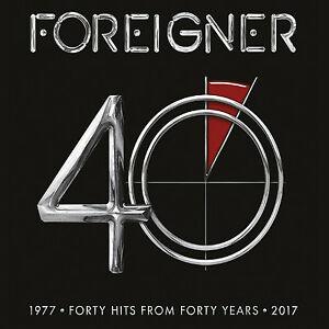 FOREIGNER – 40 2 X VINYL LP (2xLP)