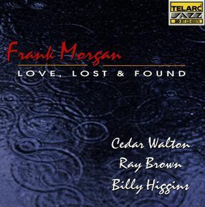MORGAN,FRANK – LOVE LOST & FOUND (CD)