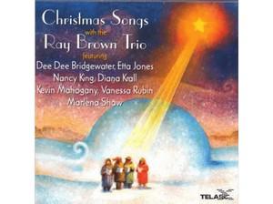 BROWN, RAY -TRIO- CHRISTMAS SONGS CD  TELA 83437 –  (CD)