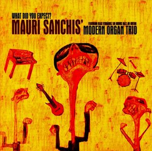 SANCHIS MAURI MODER ORGAN – WHAT DID YOU EXPECT (CD)