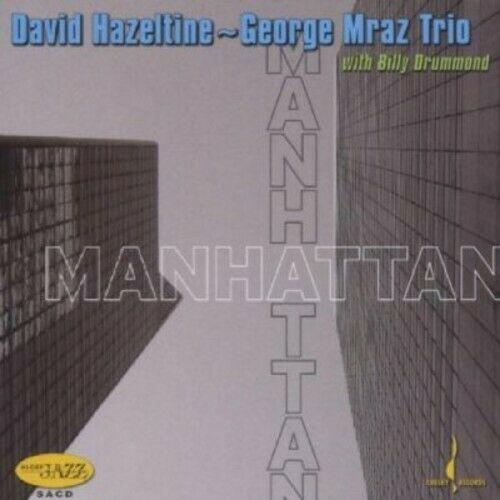 HAZELTINE, DAVID & G.MRAZ MANHATTAN-THE NEW YORK SE SACD CHESK 310 –  (CD)