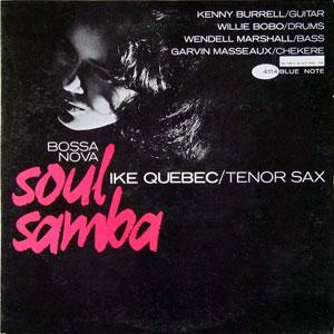 IKE QUEBEC – BOSSA NOVA SOUL SAMBA (CD)