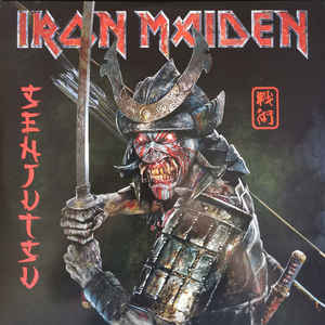 IRON MAIDEN – SENJUTSU (BLACK VINYL) (3xLP)