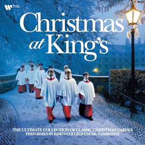 KING'S COLLEGE CHOIR, CAMBRIDGE – CHRISTMAS AT KING'S (COLOURED) (LP)