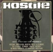 VARIOUS ARTISTS – HOSTILE HIP HOP (LP)