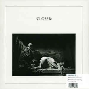 JOY DIVISION – CLOSER (40TH ANNIVERSARY LIMITED CRYSTAL CLEAR EDITION) (LP)