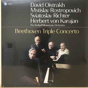 OISTRAKH/ROSTROPOVICH/RIC – BEETHOVEN: TRIPLE CONCERTO (LP)