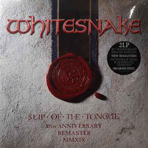 WHITESNAKE – SLIP OF THE TONGUE (30TH ANNIVERSARY REMASTER) (2xLP)