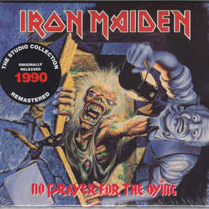 IRON MAIDEN – NO PRAYER FOR THE DYING (DIGIPAK) (CD)