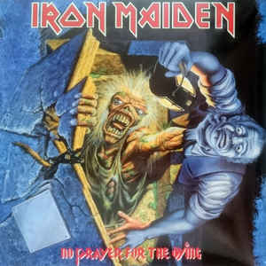 IRON MAIDEN – NO PRAYER FOR THE DYING (LP)