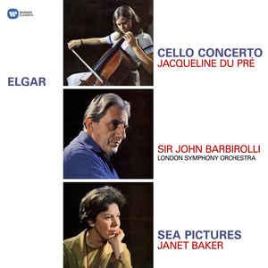 ELGAR, E. – CELLO CONCERTO/SEA PICTURES (LP)