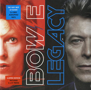 BOWIE, DAVID – LEGACY (2xLP)