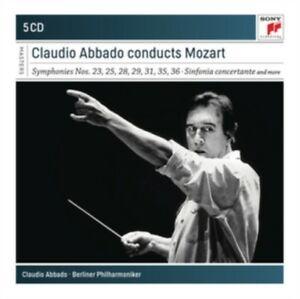 ABBADO, CLAUDIO – CLAUDIO ABBADO CONDUCTS MOZART (5xCD)